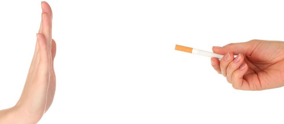 Zmarszczka palacza u osoby niepalącej